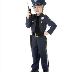 Halloween police 👮 suit pants and shirt.